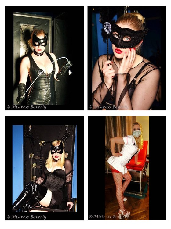 Mistress Beverly will work you over good!